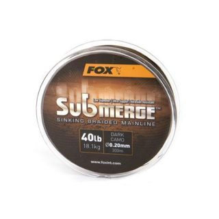Fox - Submerge Sinking Braided Mainline Dark Camo 25lb/0.16mm 600m